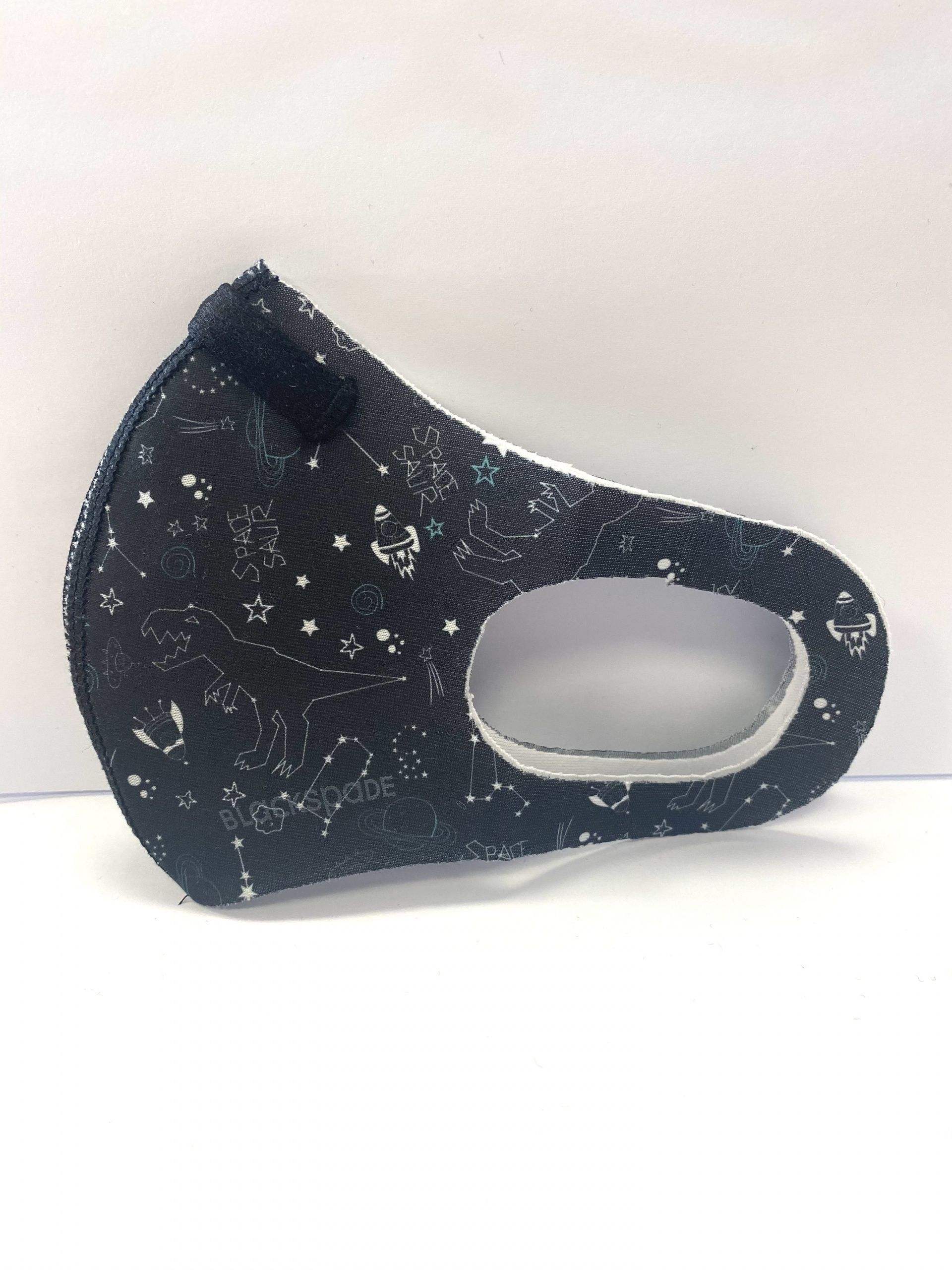 MASCARILLA INFANTIL MOD. SPACE BLACKSPADE
